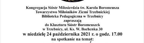 """(Polski) Kolejne spotkanie z cyklu """"Szczęść Boże w klasztorze"""""""